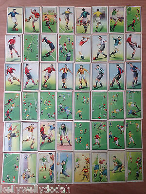 B.A.T. HINTS ON ASSOCIATION FOOTBALL (1934) Chinese Issue Complete Set