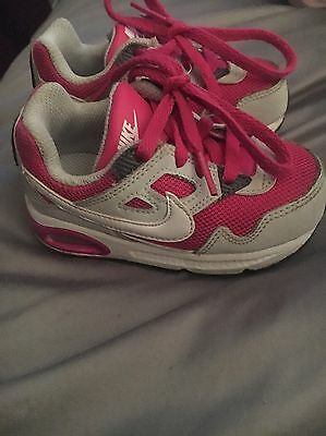 Kids Girls Nike Trainers Size 5.5