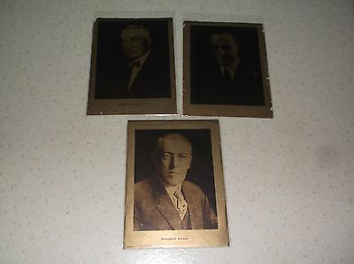 Presidents Coolidge,harding And Wilson Supplement Pictures Philadelphia Inquirer