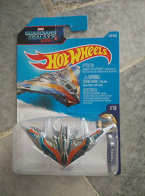 2017 Hot Wheels - Guardians of the Galaxy 2 Milano - H Case Rare NOT SUPER THUNT