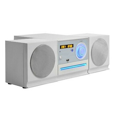 Audiola ahb2297 micro hi-fi con lettore cd mp3 ingressi usb aux radio stereo