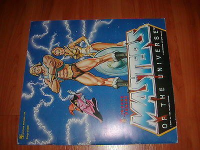 MASTERS OF THE UNIVERSE - 1983 FIGURINE PANINI Sticker Album..complet