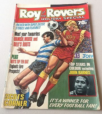 Roy Of The Rovers Holiday Special 1988