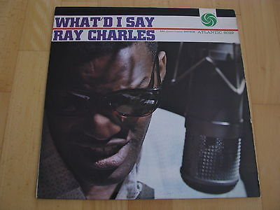 Ray Charles What`d I Say  Atlantic 8029 Records High Fidelity US 1959 Vinyl