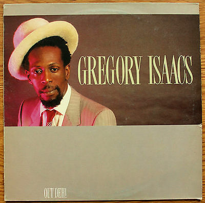 GREGORY ISAACS Out Deh! UK VINYL LP Island ILPS 9748 EX/VG+ 1983