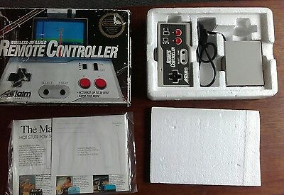 wireless infrared remote controller nes Nintendo in box rate! Ntsc