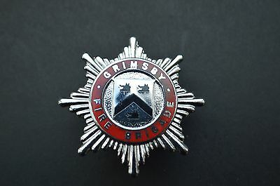 Grimsby fire brigade cap badge