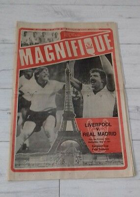 469) Liverpool echo 1981 European cup final souvenir