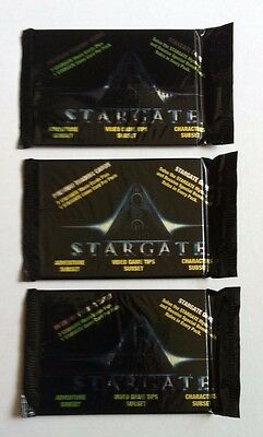 Stargate Trading Card Packs x 3