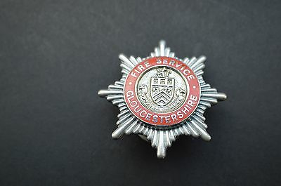 Gloucestershire fire service cap badge
