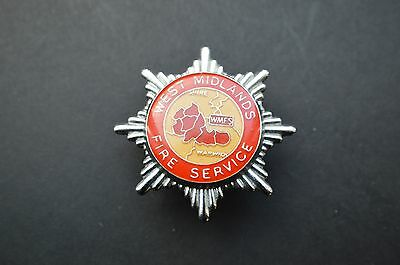 West Midlands fire service cap badge