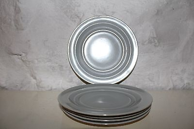 Branksome China - Five Side Plates - Grey