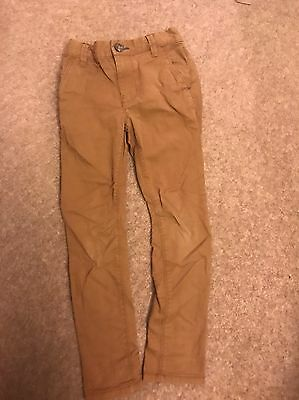 Next Boys Trousers 6 Years Camel/ Brown Colour