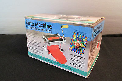 amaco pasta maker use with Polymer Clays Model 123815 MIB