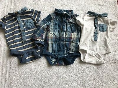 Baby Boy Vests With Collars FIRST SIZE, From NEXT