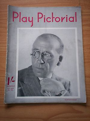 THE PLAY PICTORIAL Issue 394 - Gordon Harker