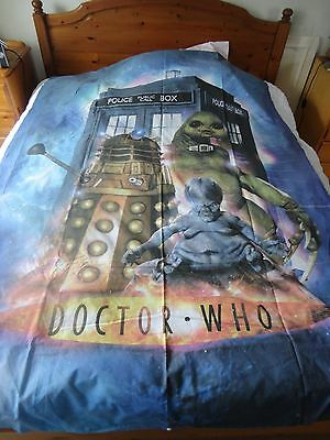 DR WHO single duvet cover and pillow case
