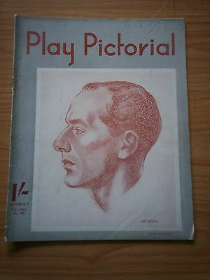 THE PLAY PICTORIAL Issue 400 - John Gielgud