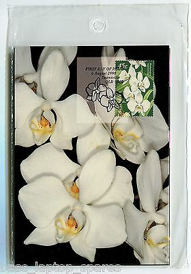 1998 Maxi Cards - Joint Issue with Singapore 'Orchids'