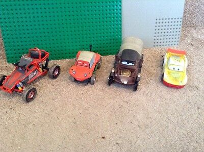 Disney Cars Pixar Bundle Of Rare Cars From The Movies Die Cast. Lot 5 ����✅✅