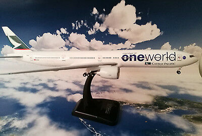 Cathay pacific Boeing 77-300 One World livery Hogan wings 1/200