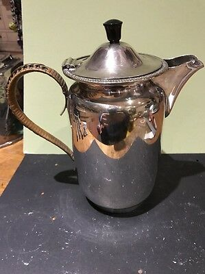 solid silver pot