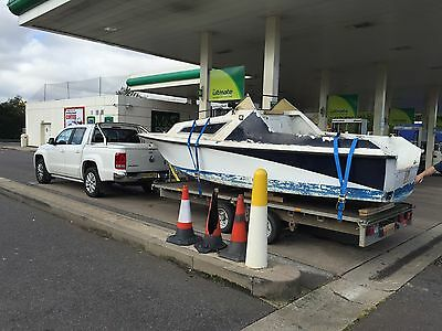 Seasafe pacific 550 Project Boat 18ft