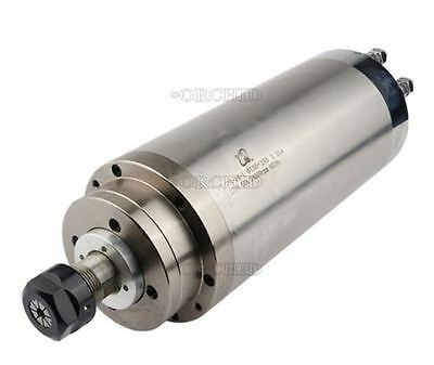 3.2Kw 100Mm High Speed Water Cooled Cnc Spindle Motor For Woodwork 220V New Y M