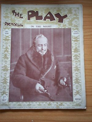THE PLAY PICTORIAL Issue 216 In the Night