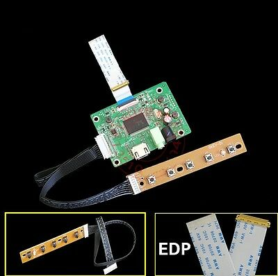 """NEW HDMI to EDP Signal Controller Board for Raspberry 10.1""""-17.3"""" LCD EDP new"""