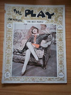 THE PLAY PICTORIAL Issue 290 The Best People - Olga lindo