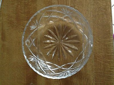 Crystal Bowl - Thick Glass - Royal Brierley