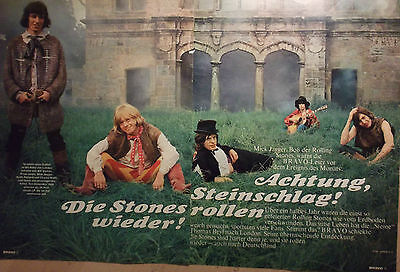 2 german clipping ROLLING STONES BRIAN JONES ROCK BOY BAND BOYS GROUP JAGGER