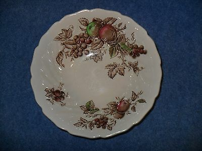 Vtg. Johnson Brothers Harvest Time Serving Bowl Discontinued 1978!