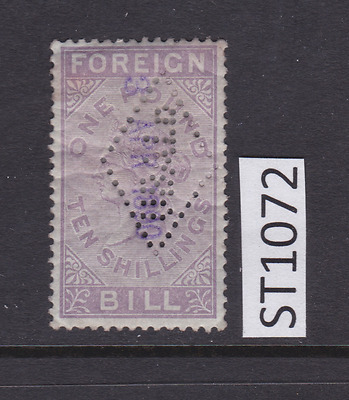 GB Revenue Fiscal Stamp - ST1072