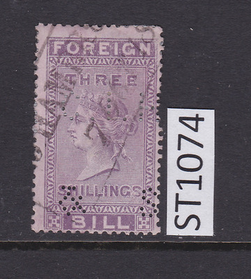 GB Revenue Fiscal Stamp - ST1074