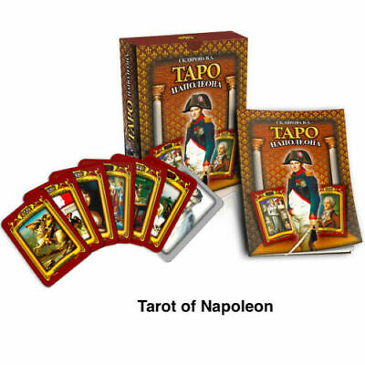 New Deck Napoleon Tarot 78 cards + book Таро Наполеона (In Russian)