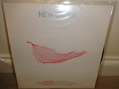 "New Order ‎Subculture State Of The Nation I Told You So 12"" Vinyl Stuart Price"