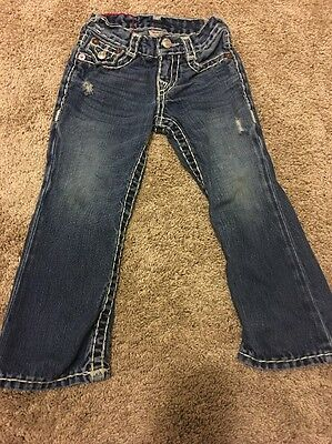 Toddler True Religion Jeans Size 3 Great Condition