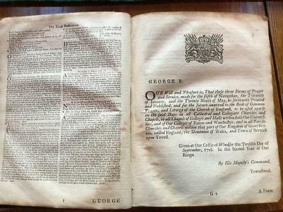 A large and imposing 18th century Bible from 1745