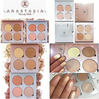 Anastasia Beverly Hills Glow Kit Highlighter PALETTE That Glow Gleam Sweets
