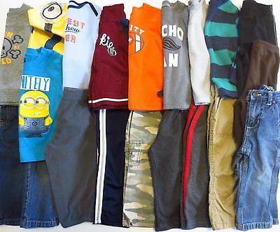 Lot Toddler Boys Size 18 Months Fall Winter Clothes