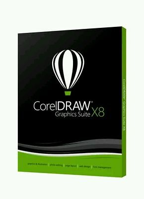 CorelDRAW Graphics Suite X8 Full Version Multilingual, Download Edition & Key