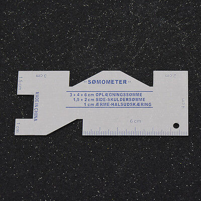 1 Pc Sewing Measuring Gauge Quilting Ruler For Sewing Craft Sewing Accessories