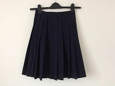 Authentic Japanese schoolgirl uniform skirt, imported from Japan, used, S(Q1064)