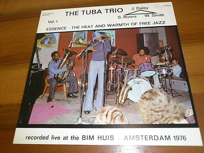 THE TUBA TRIO Essence - Heat And Warmth Of Free Jazz Vol. 1 - LP Circle Records