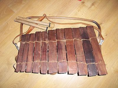 Balaphon West African 11 Key Musical Instrument. Balaphone for busking.