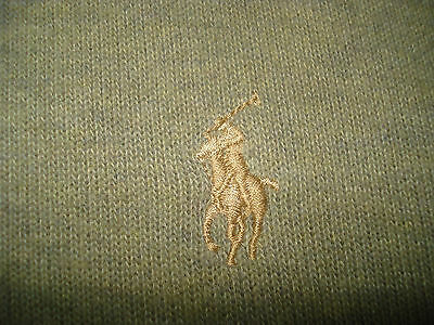 Polo Ralph Lauren Men's Half Zip Pullover Sweat Shirt Size Large Great!