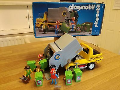 Playmobil Garbage Truck (3780) Boxed