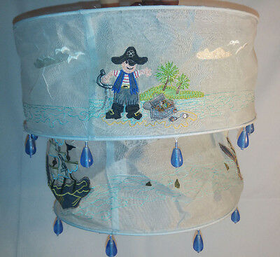 Set of two Sass & Belle pirate lampshades